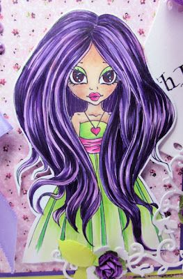 Copic Marker Benelux: Zoe ie a color exercise