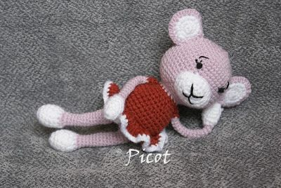 Picot Szydełkowe Inspiracje Szydełkowa Małpka Zabawki Amigurumi