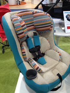133 Baby Products Not Even in Stores Yet!: Skip Hop's new play spots come in packs of three and fit right into its play tiles. : The Cybex Aton Q has an adjustable headrest that automatcially adjusts the seat's size. It also features linear side protection. : Safety 1st's Store 'N Go Booster comes with a hidden drawer to keep tots' toys, games, snacks, and more. Maybe it will even help keep the car clean! : Pearhead is introducing the cutest birth announcement frame for your keepsakes…