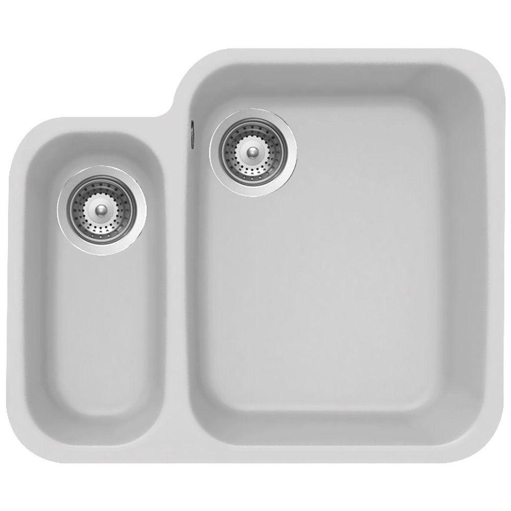 Schock Solido N 150 1 5 B Granite Alpina White Undermount Kitchen