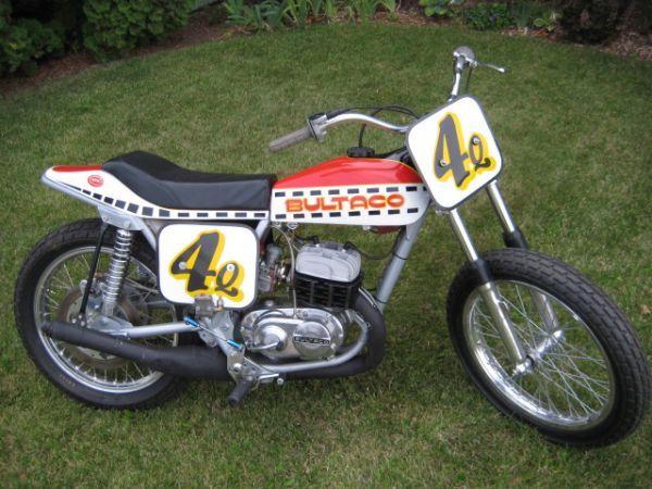 Bultaco Astro Flat Track Racing Motorcycle Flat Track Motorcycle Flat Track Racing Racing Bikes