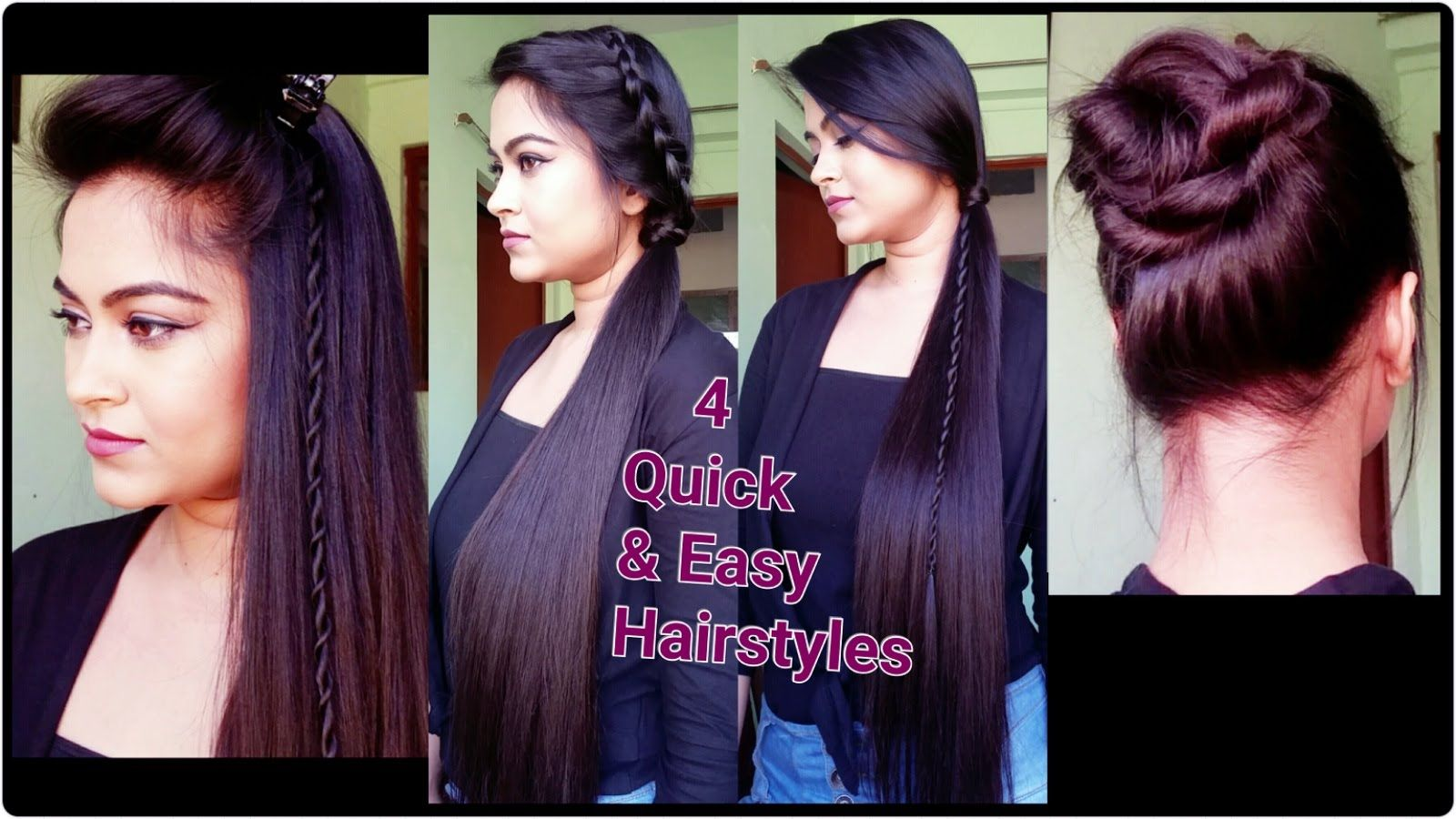 Quick hairstyles for long hair indian hairstyles for long hair