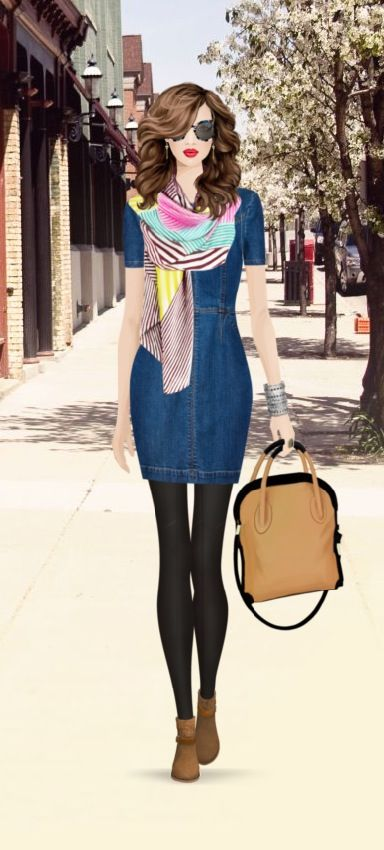New York City Street Chic Covet Fashion Game Pinterest City Streets Street Chic And