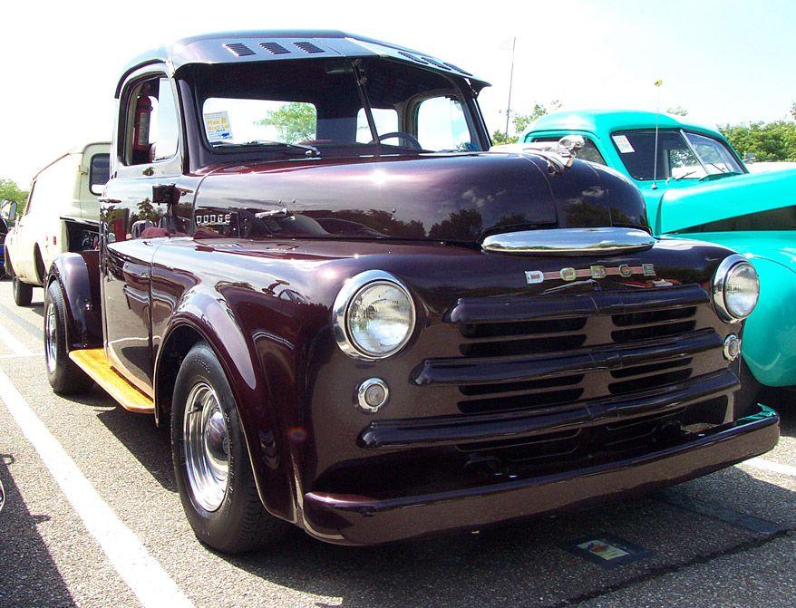 1950 Dodge Pickup Wooden Bed Dodge Pickup Classic Pickup Trucks Old Dodge Trucks