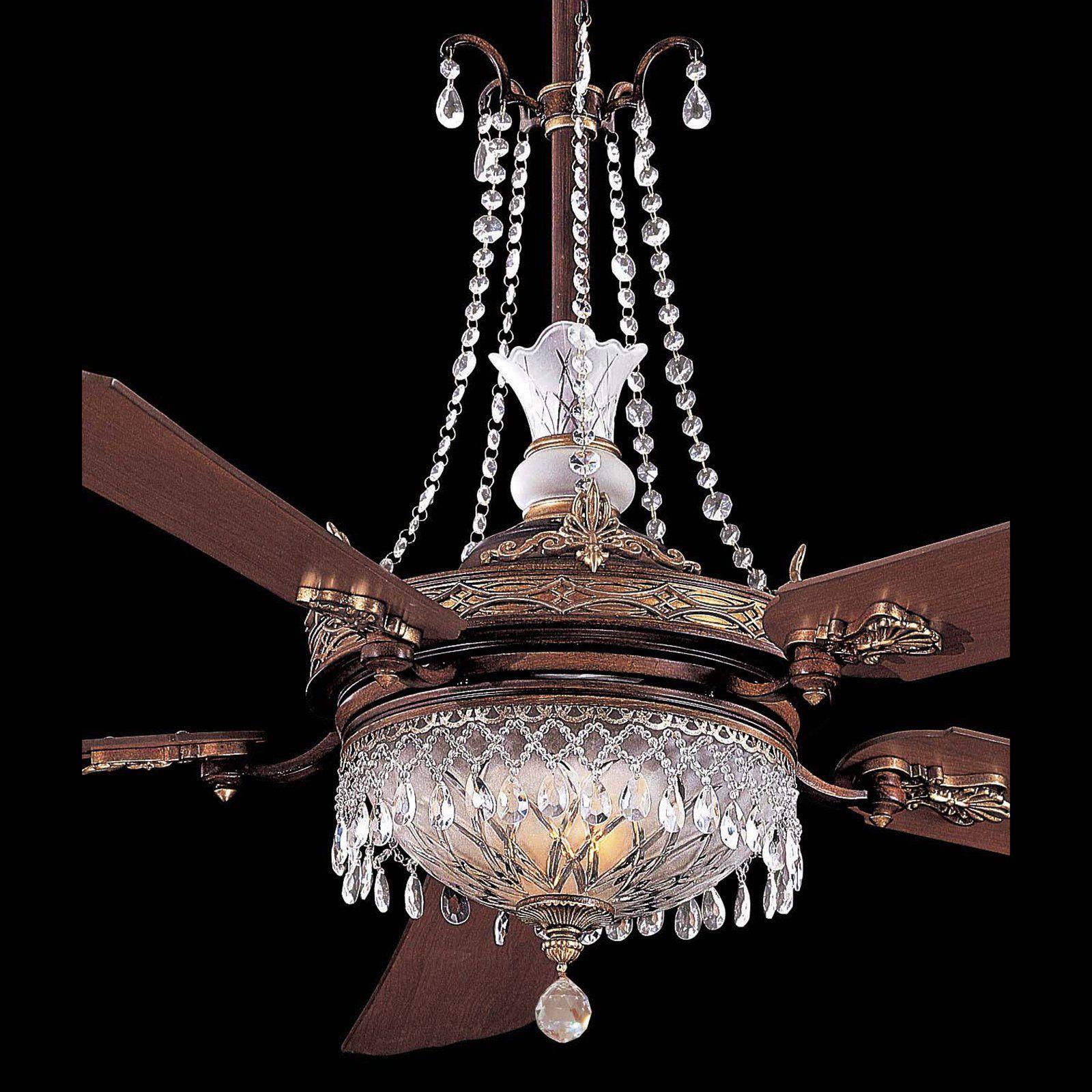 Minka Aire Ceiling Fan Crystal Kit SPECTRA Swarovski Crystals Ceiling Fans