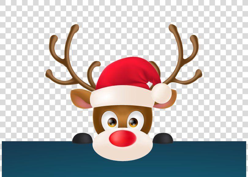 Reindeer Santa Claus Christmas Clip Art Reindeer Png Reindeer Antler Christmas Christmas Card Christmas Ornament Christmas Clipart Reindeer Christmas