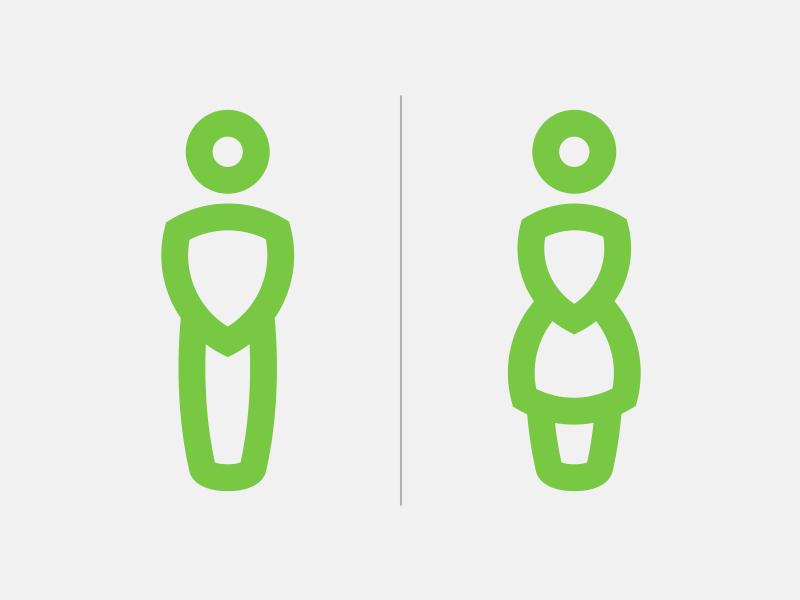 Icon Sign 에 있는 Gagasnava님의 핀 디자인 화장실