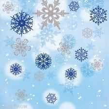 Shimmering Snowflakes Beverage Napkins Disney Frozen Christmas Party Winter Xmas