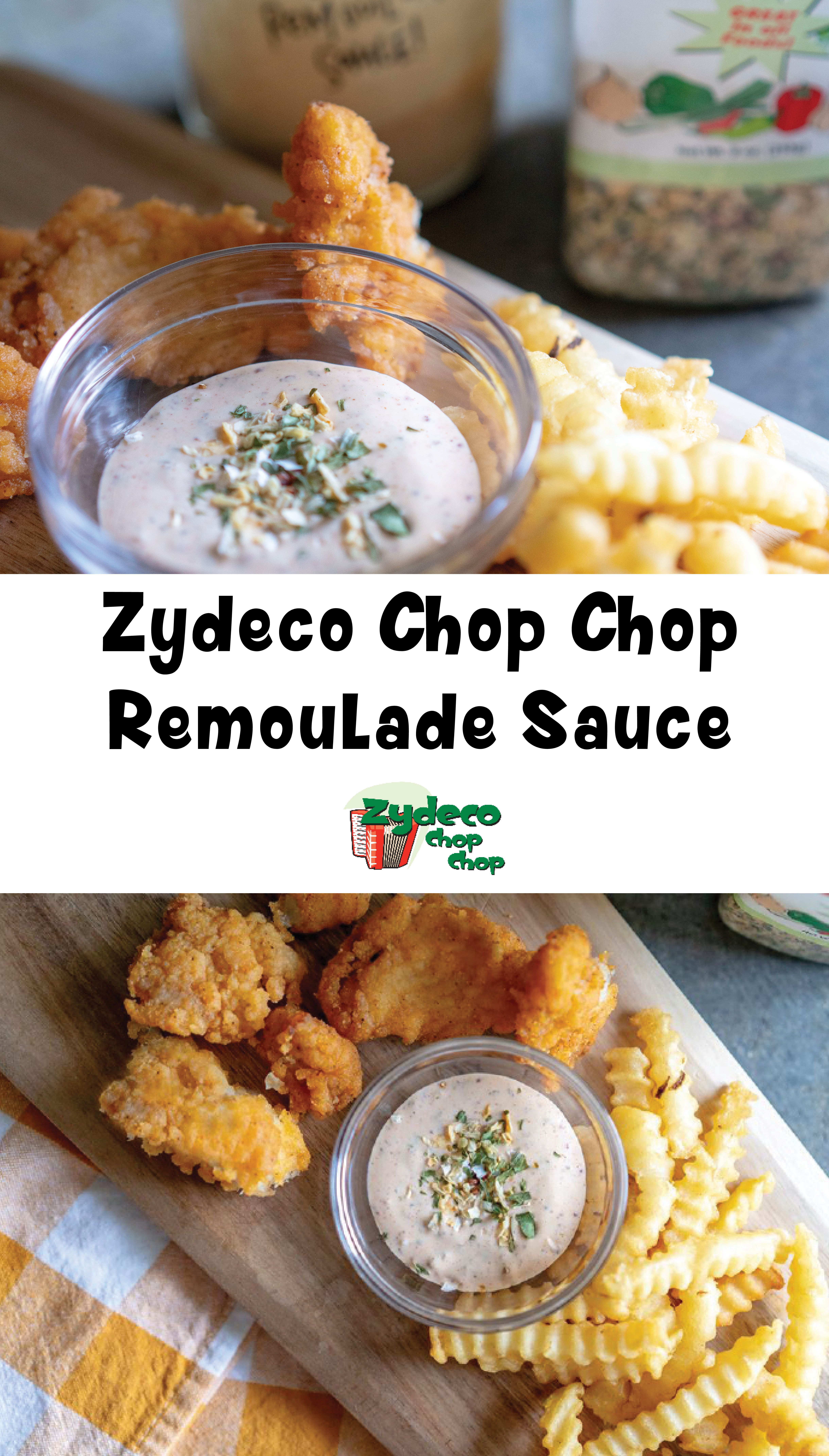 Zydeco Chop Chop Remoulade Sauce 1 Cup Mayonnaise 2
