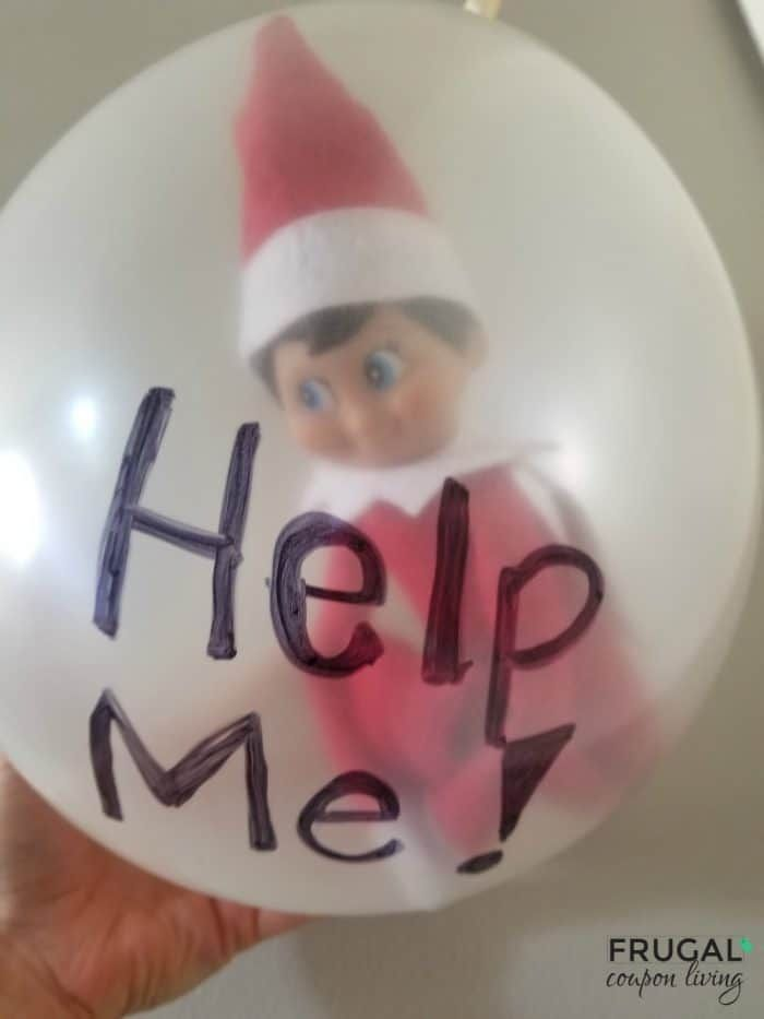 How to Stuff a Balloon with Elf on the Shelf - Easiest, Funniest Elf Idea