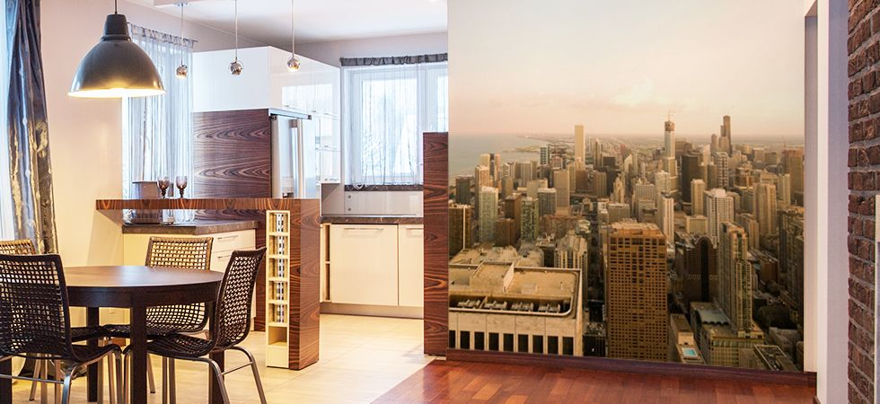Cityscape Wall Murals Cityscape Removable Wallpaper Living Room