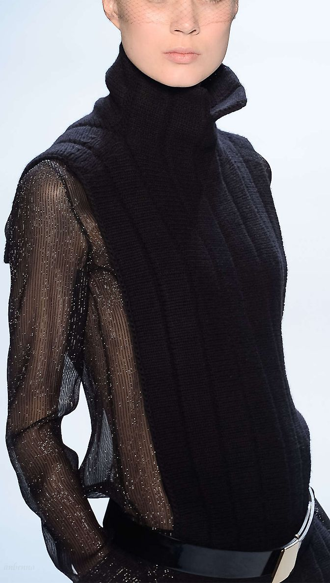 Modeconnect.com - Akris Jumper with sheer panel