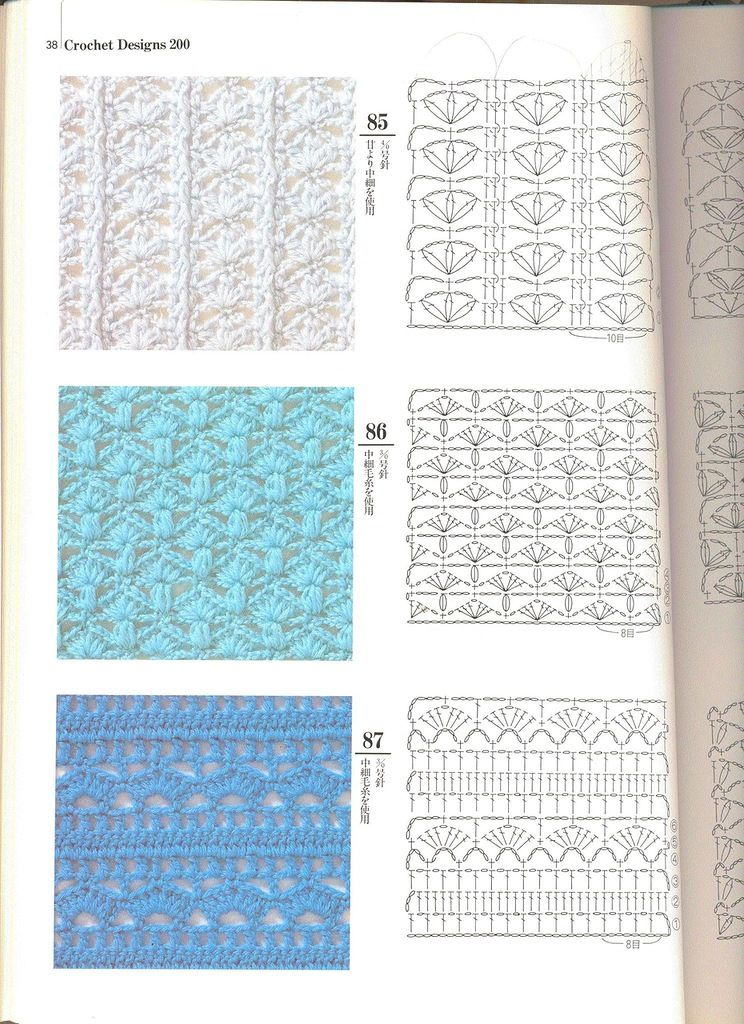 Mis Pasatiempos Amo el Crochet: Álbum de puntos a Crochet   puntos ...