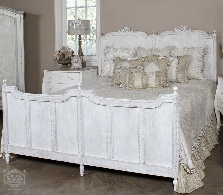 Baton Rouge Shabby Chic 2 Painted Bedroom Furniture
