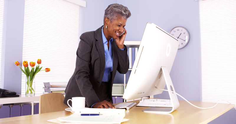 Working at a standing desk may offer health benefits, however, studies suggest t…