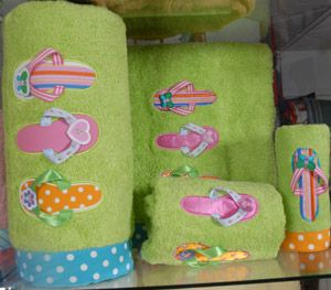 Flip Flop Bathroom Accessories Bath