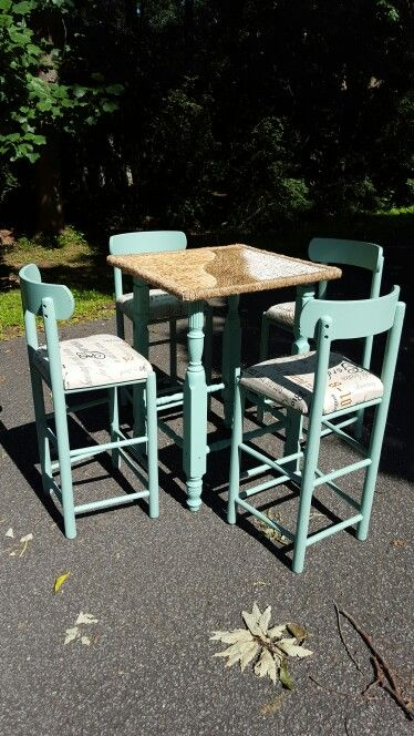 Pair Bed Stools: $10 Bar Stool Frames, Mismatched Bed Posts, Pallet Wood