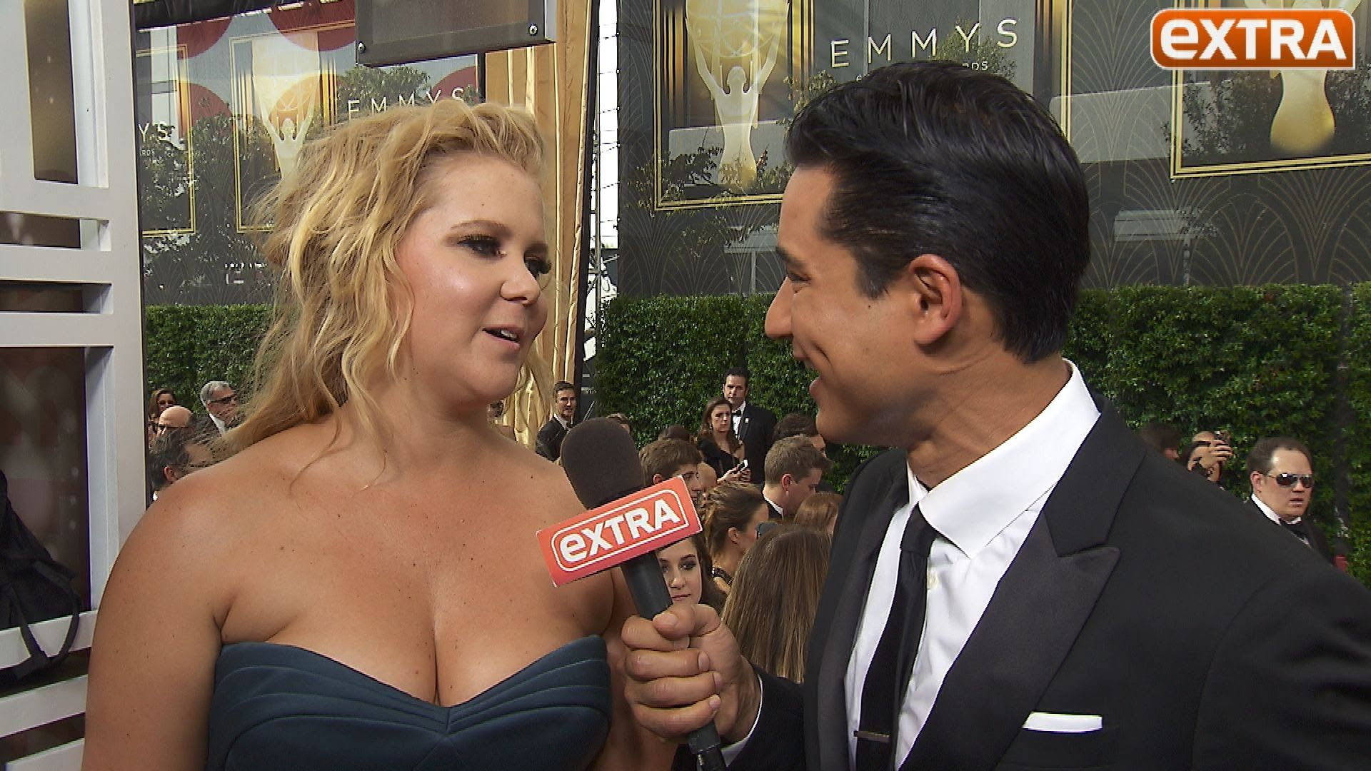Amy Schumer Says Getting Spanked By Madonna Was The Best Night Of