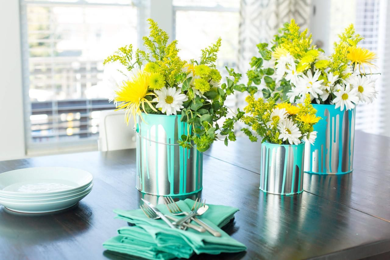 11 Simple and Stylish DIY Floral Centerpieces | DIY WEDDINGS + ...