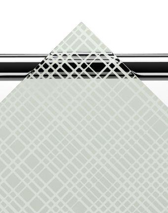 Glasmönster Textur. Tillgängligt på alla duschväggar i ARC- och LINC-serien från INR.