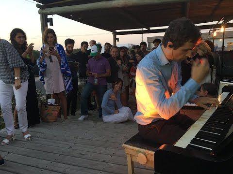 Me junté con raperos y Luciano Supervielle tocando el piano
