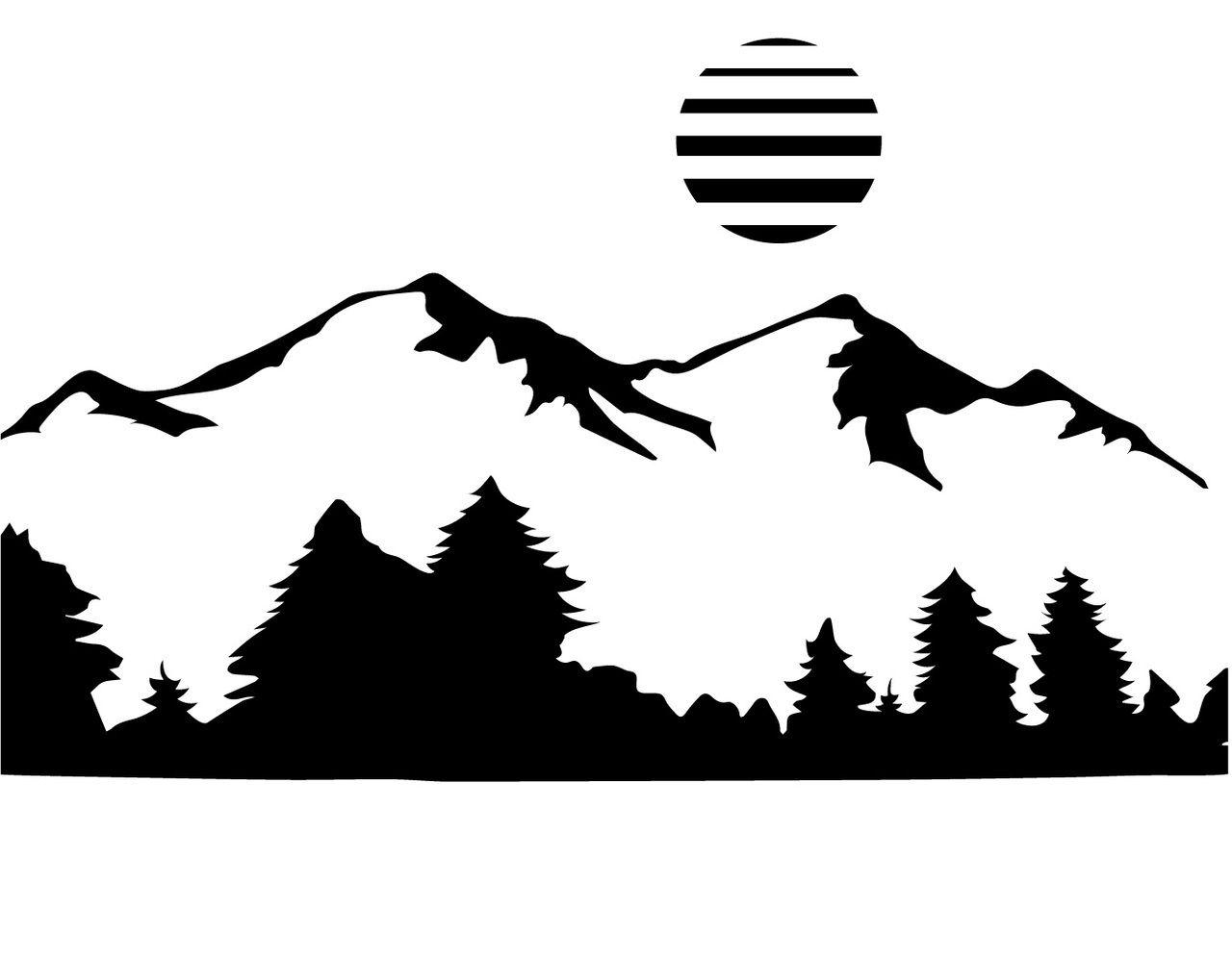 Free Mountain Svg Cut File