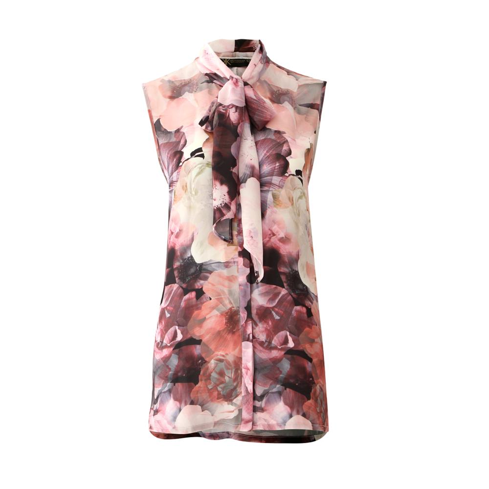 Kardashian Kollection  - Space Floral Shirt