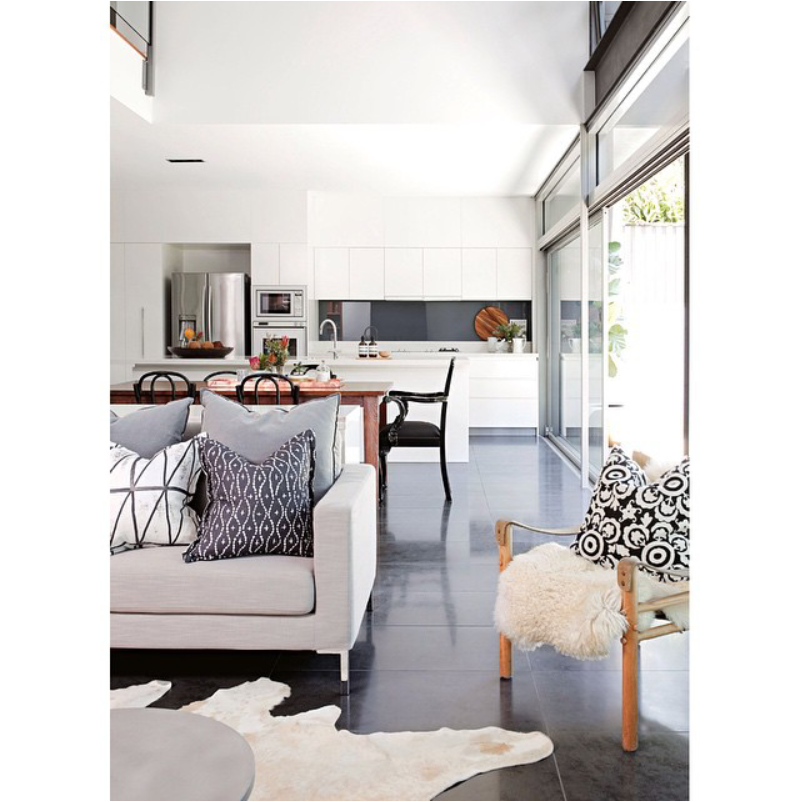 Combining Kitchen And Dining Room: Love This Combined Kitchen, Dining Room And Lounge Room
