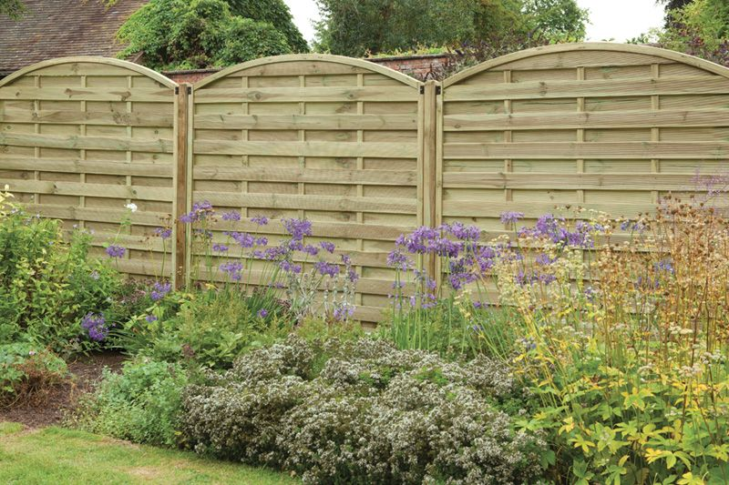 Forest Europa Domed Screen Manufactured From Heavy Duty Mortice And Tenon  Jointed Framework Ensures Stability And Strength, As Well As Keeping Your  Garden ...