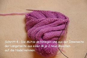 """Photo of Kindermütze """"Spiralibus"""" – Kostenlose Strickanleitung für Anfänger"""