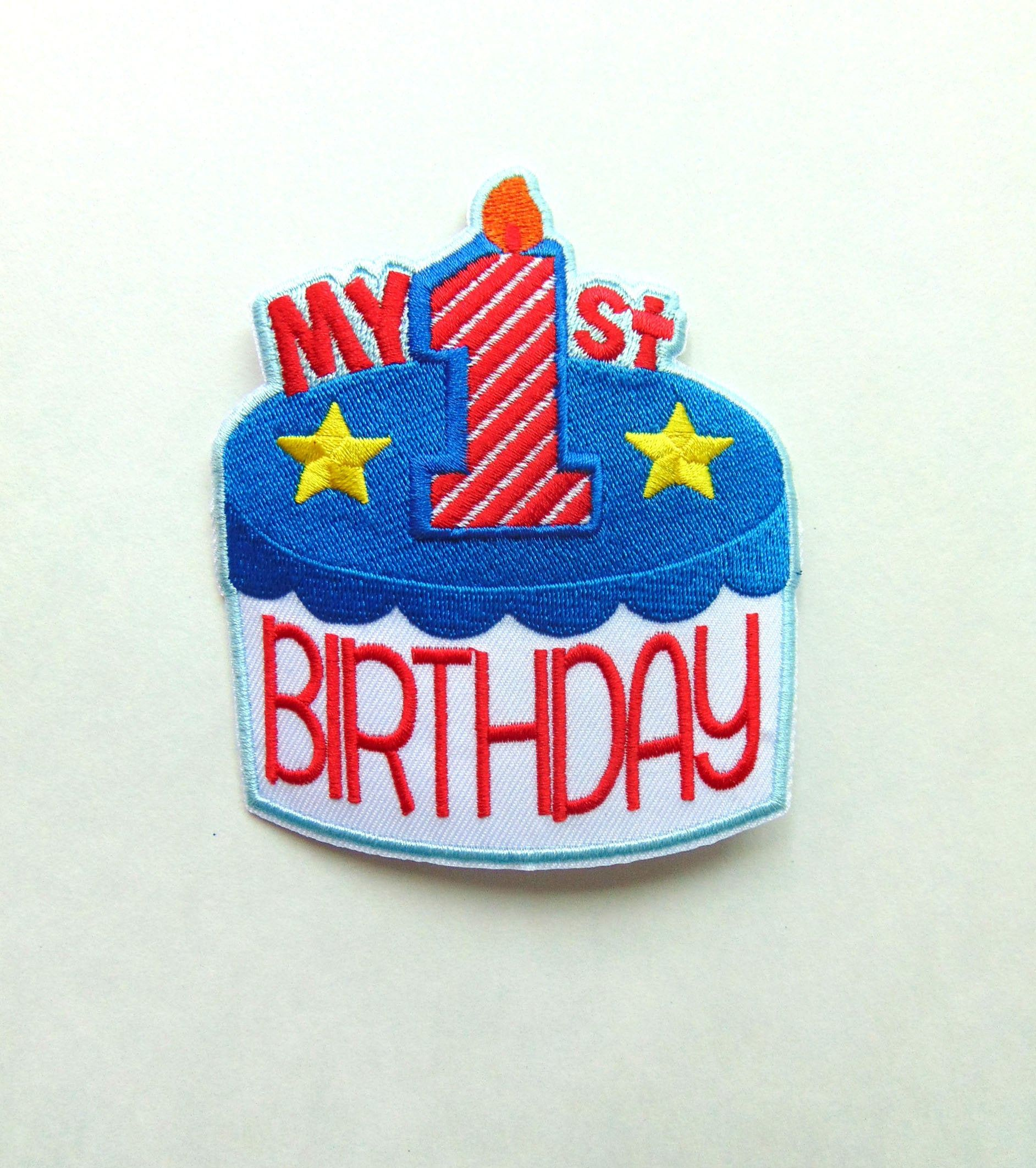 First Birthday Iron On Patch Kids Diy Clothing Iron On Etsy Diy For Kids Repair Clothes Crafts