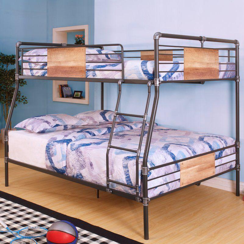 Bellmead Twin over Twin Bunk Bed Queen bunk beds, Bunk