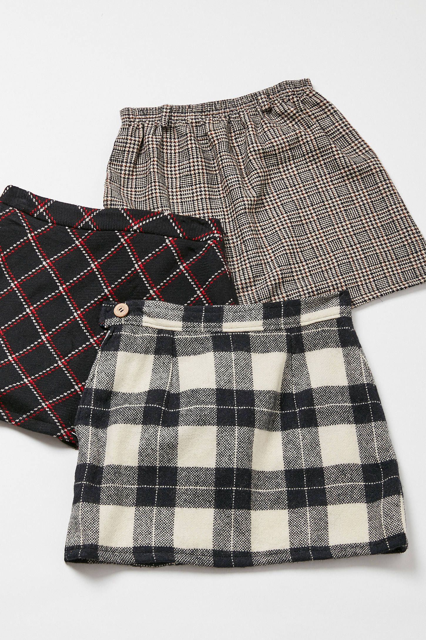 1d7e0c852a Vintage Plaid A-Line Mini Skirt in 2019 | ClothesClothesClothes | A ...