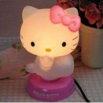Hello Kitty Nightlight Kid Stuff Pinterest Hello Kitty And Cot - Hello kitty lamps for bedroom
