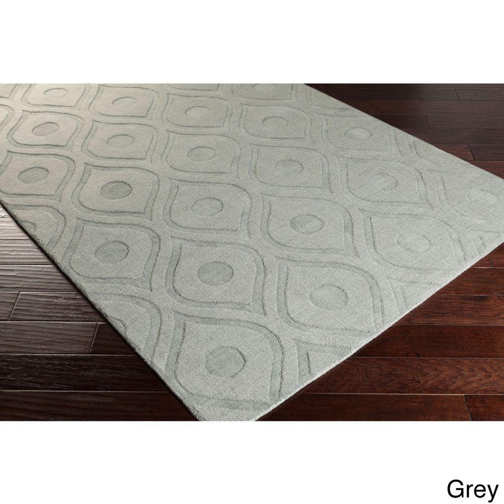 Hand Woven Abi Tone On Wool Rug 3 X 5