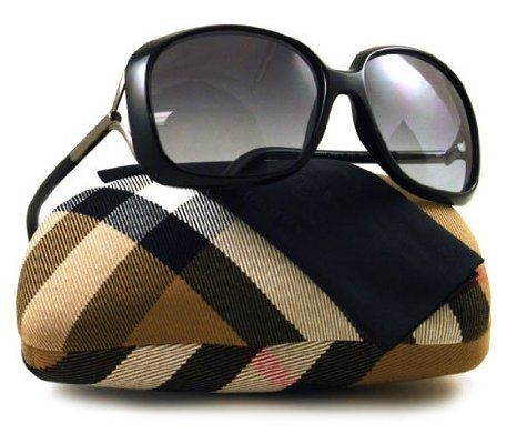 cbeca235b9a0 Amazon.com: Burberry SUNGLASSES BE 4068 BLACK 3001/11 BE4068: Burberry:  Clothing