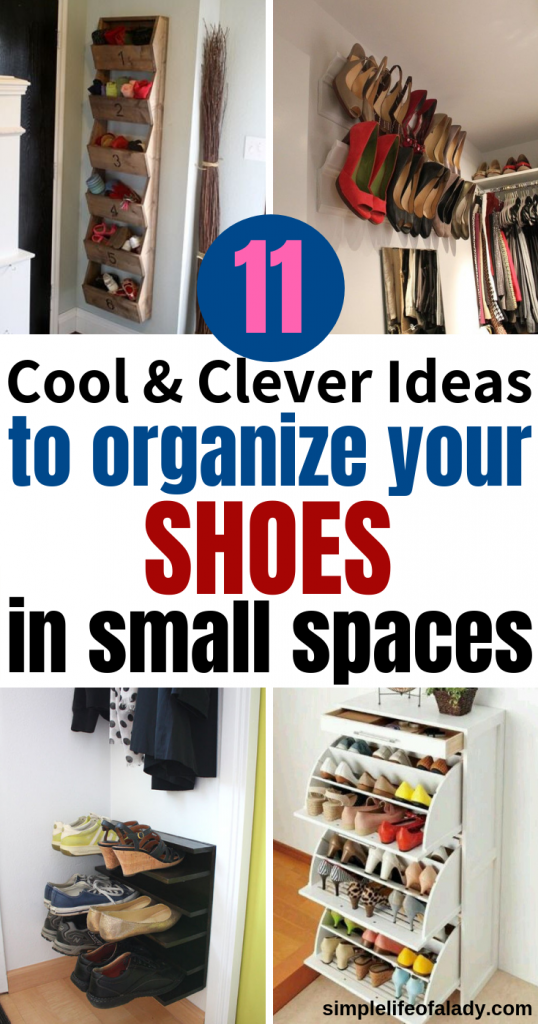 27 Cool Clever Shoe Storage Ideas For Small Spaces Small Space
