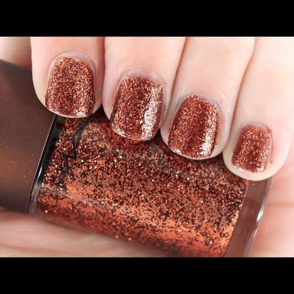 Mac Tropical Glitter Nail Polish - Limited Edition | Glitter nail ...