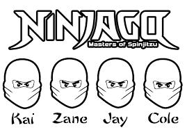 Bildergebnis für ninjago ausmalbilder Ninjago