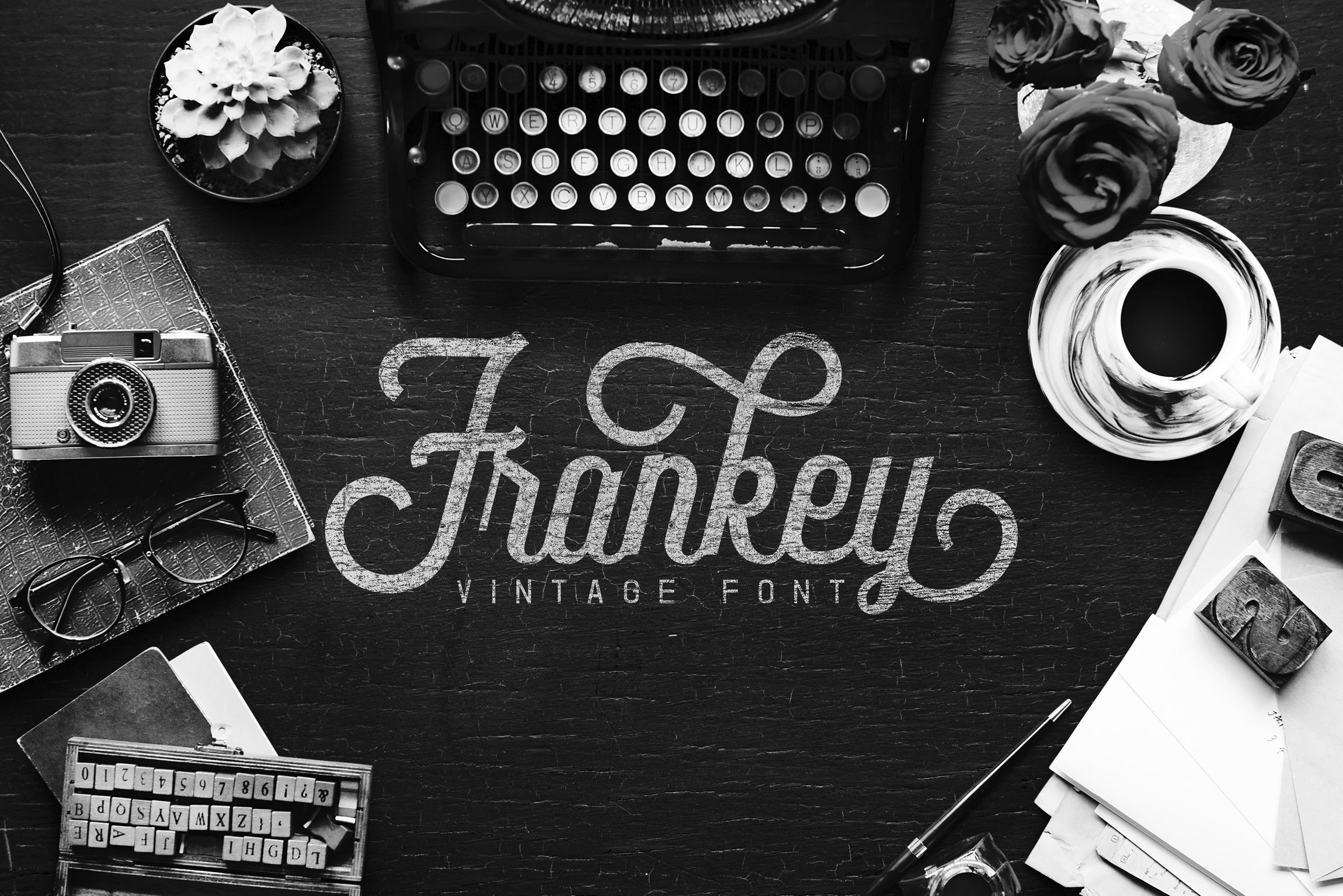 Frankey (Font) by Aqr Typeface