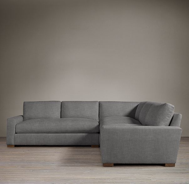Maxwell Upholstered Customizable Sectional Perennials Textured Linen Weave : customize sectional - Sectionals, Sofas & Couches