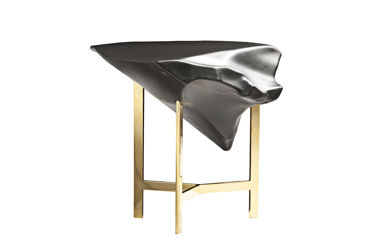 Driade mobili ~ Basalt table launched at salone del mobile with driade stuff