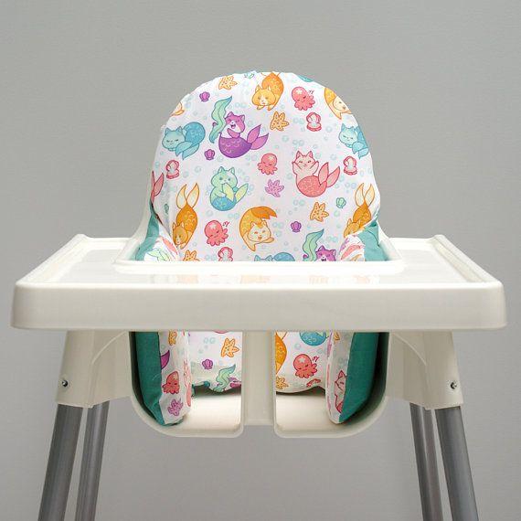 Groovy Colourful Mercat Ikea High Chair Klammig Cushion Cover Alphanode Cool Chair Designs And Ideas Alphanodeonline
