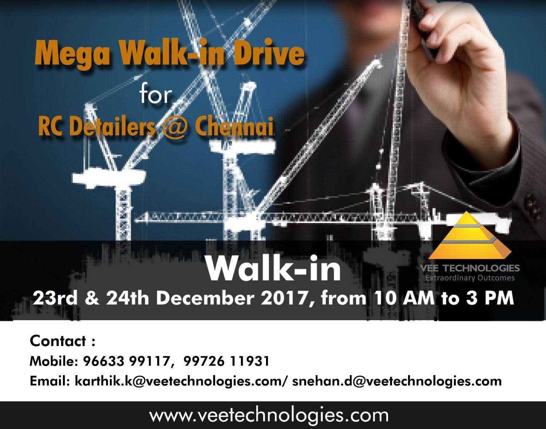 Walkin Changing jobs, Job opportunities, Civil engineering