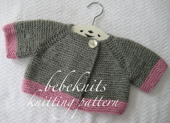 427cbd3cf83e bebeknits simple french style toddler cardigan knitting pattern best ...