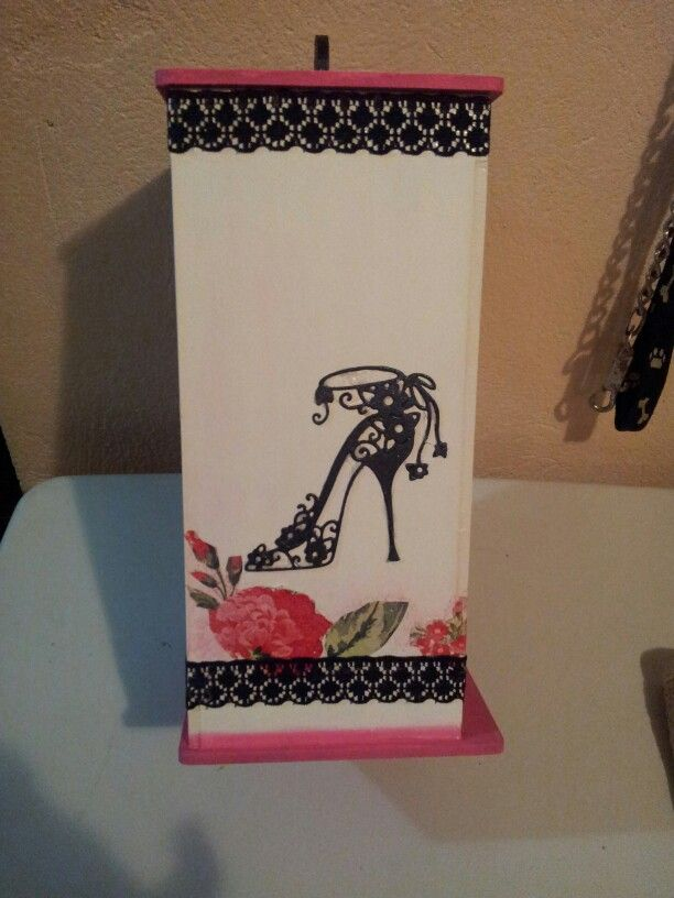 Cajita para toallaa sanitarias porta toallas femeninas - Cajas de madera decorativas ...