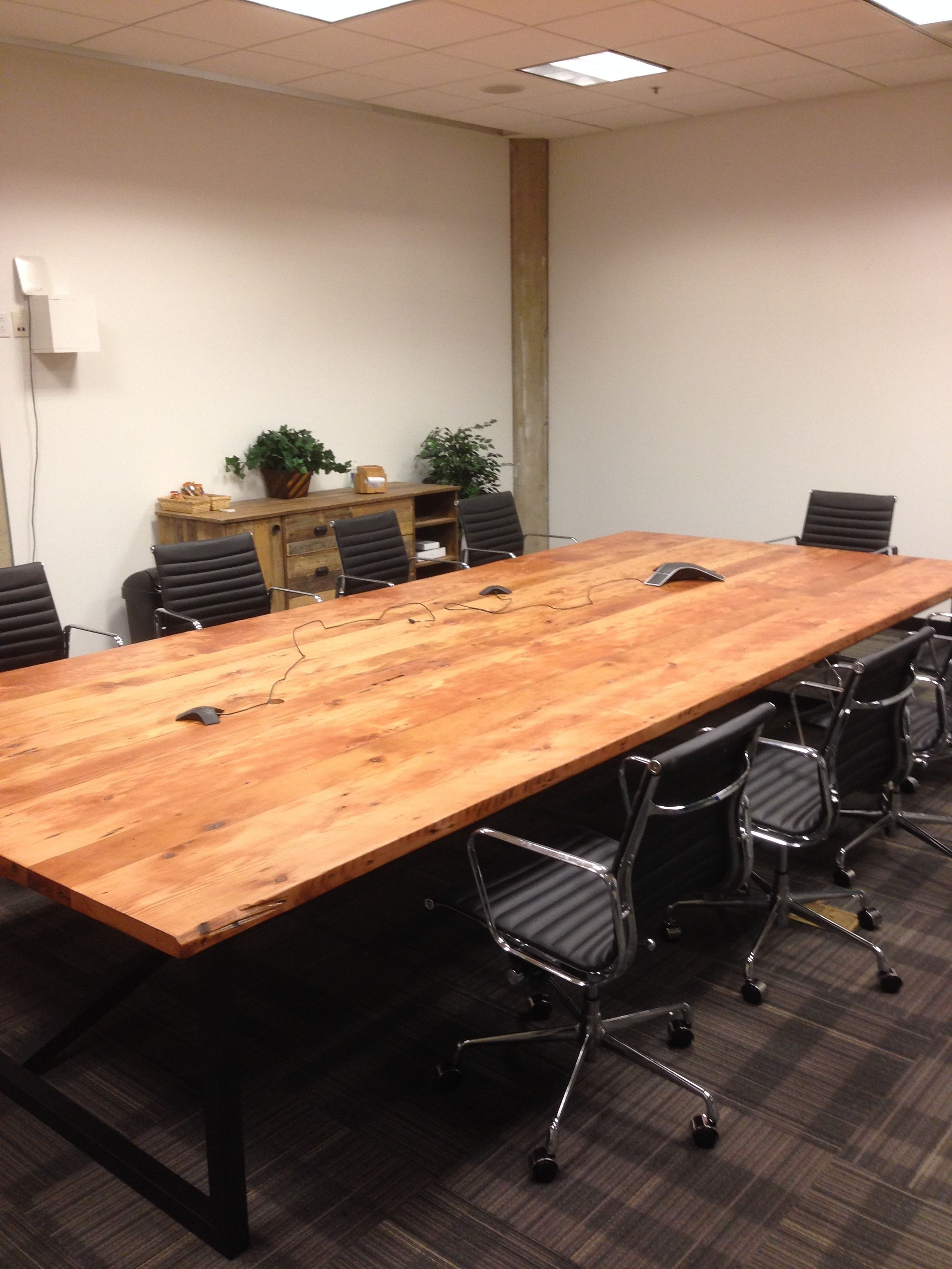 Ft X Ft Conference Table Hipmunk SF HQ Pinterest - 6ft conference table