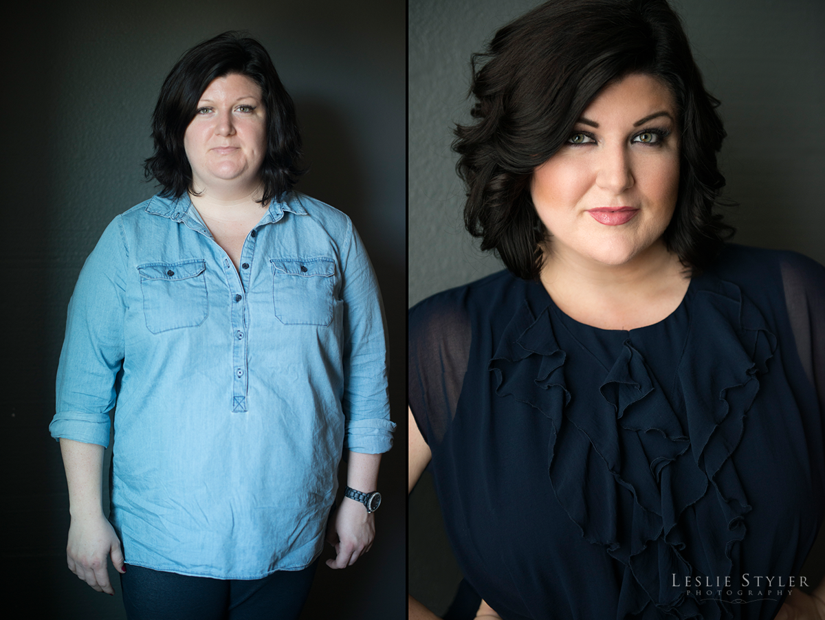 glamor beauty photography before and after