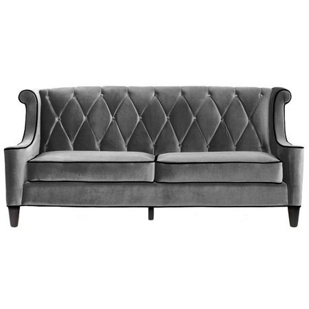 I pinned this Barrister Sofa in Gray from the Armen Living event at Joss and Main!