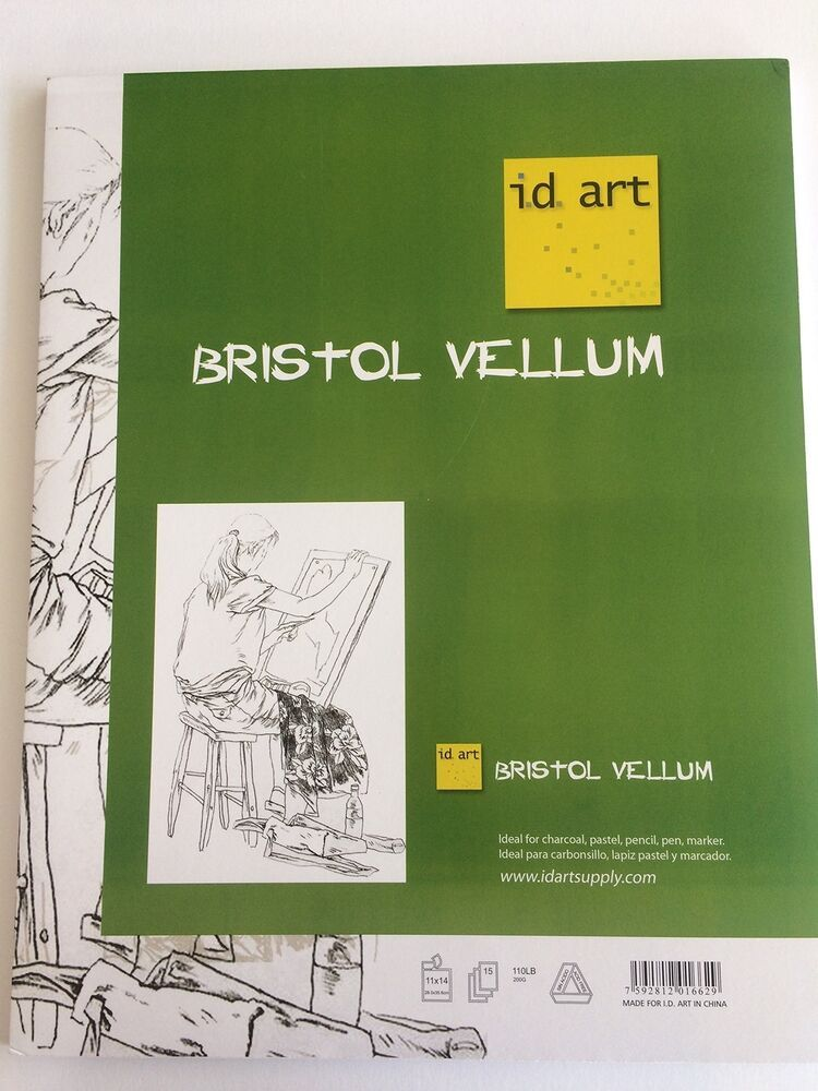 I D Art Supply Bristol Vellum Pad 11x14 11x14 New Affilink Artsupplyhaul Artsupplylot Pens Mark Drawing Supplies Art Supply Organization Art Supplies